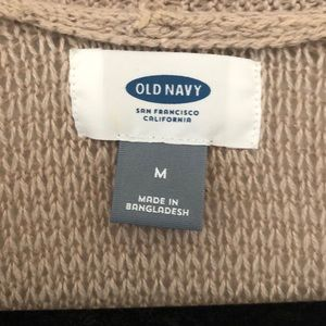 Old Navy Sweaters - Old Navy tan cardigan